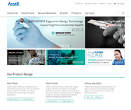 Ansell Limited Website Link