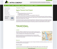Intra Energy Corporation Limited Website Link