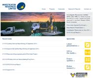 Investigator Resources Ltd Website Link
