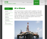 IPB Petroleum Limited Website Link