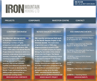 Iron Mountain Mining Limited Website Link