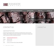 Ironbark Capital Limited Website Link