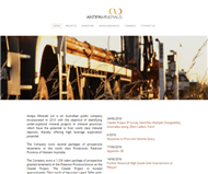Antipa Minerals Limited Website Link