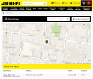 JB Hi-Fi Limited Website Link