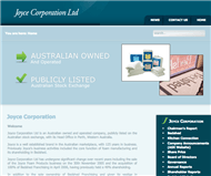 Joyce Corporation Limited Website Link