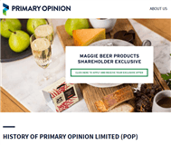 Primary Opinion Limited Website Link