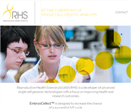 Reproductive Health Science Limited Website Link