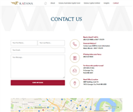 Katana Capital Limited Website Link