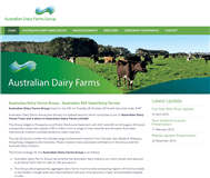 Australian Dairy Farms Group Website Link