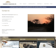 Kimberley Diamonds Ltd Website Link