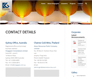Kingsgate Consolidated Limited Website Link