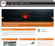 Krakatoa Resources Limited Website Link