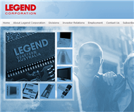 Legend Corporation Limited Website Link