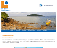 Lindian Resources Limited Website Link
