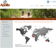 Apollo Consolidated Limited Website Link
