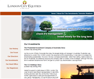 London City Equities Limited Website Link