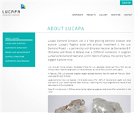 Lucapa Diamond Company Limited Website Link