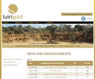 Luiri Gold Limited Website Link