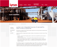 Lynas Corporation Limited Website Link
