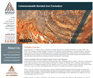 Apollo Minerals Limited Website Link