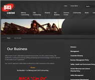 Maca Limited Website Link
