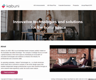 Kabuni Ltd Website Link