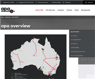 APT Pipelines Limited Website Link