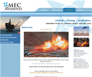 MEC Resources Limited Website Link
