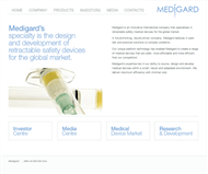 Medigard Limited Website Link