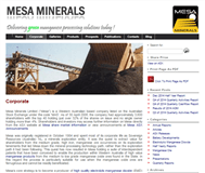 Mesa Minerals Limited Website Link