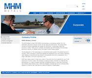 MHM Metals Limited Website Link