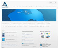 Arafura Resources Limited Website Link
