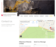 Millennium Minerals Limited Website Link