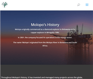Molopo Energy Limited Website Link