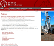 Monax Mining Limited Website Link