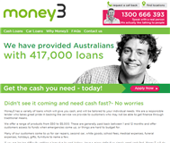 Money3 Corporation Limited Website Link