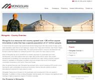 Mongolian Resource Corporation Ltd Website Link