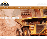 Mount Gibson Iron Limited Website Link