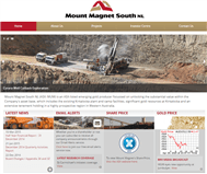 Mount Magnet South Limited Website Link