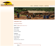 Tanga Resources Limited Website Link
