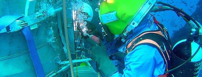 NEPSYS® Dry Underwater Welding