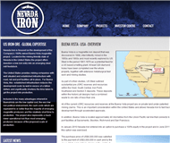Nevada Iron Ltd Website Link