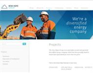 New Hope Corporation Limited Website Link