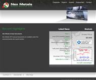 Nex Metals Exploration Limited Website Link