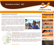 Nickelore Limited Website Link