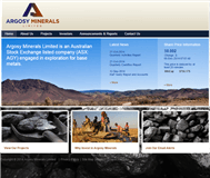 Argosy Minerals Limited Website Link