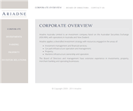 Ariadne Australia Limited Website Link