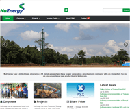 Nuenergy Gas Limited Website Link