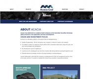Acacia Coal Limited Website Link