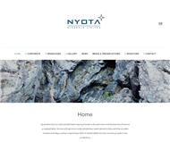 Nyota Minerals Limited Website Link